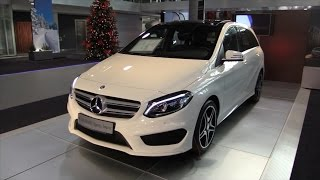 Mercedes-Benz B Class 2017 In Depth Review Interior Exterior(Hello and welcome to Alaatin61! YouTube's collection of automotive variety! In today's video, we'll take an up close and in depth look at the New 2017 Mercedes ..., 2014-12-15T16:47:50.000Z)