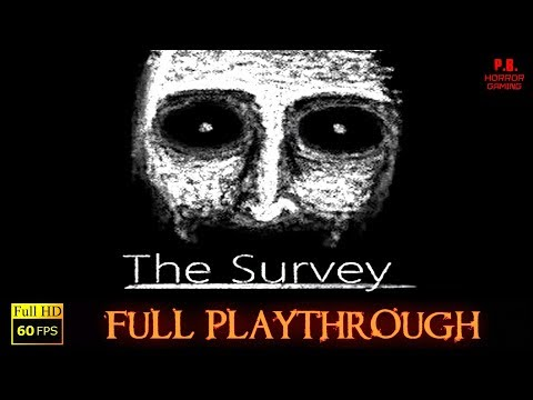 The Survey | Full Playthrough | Gameplay Walkthrough No Commentary | 60FPS / 1080P