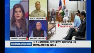 us nsa lt gen hr mcmaster conducts strategic talks with indian nsa ajit doval