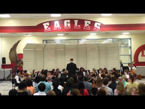 Dewitt Perry Middle School Orchestra, Symphonic Orchestra-Ancient Ritual 5-19-2011