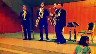 Tango Virtuoso – Escaich (Cuarteto de saxofones SQ4) Teatro de la Maestranza.