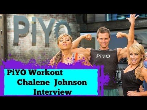 New Chalene Johnson PIYO Workout Official Interview