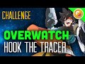 """Overwatch Challenge """"Hook the Tracer"""" - Custom Game Funny Moments"""