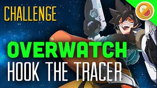 "Overwatch Challenge ""Hook the Tracer"" - Custom Game Funny Moments"