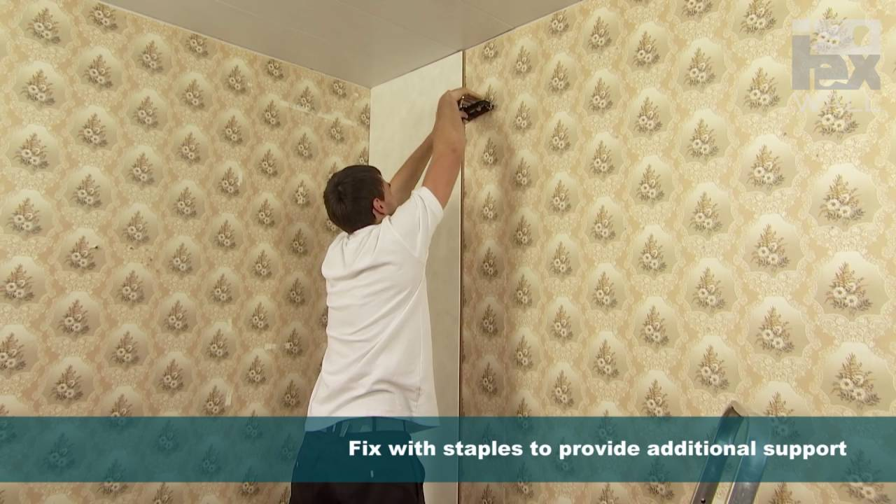 ISOTEX WALL installation with adhesive - YouTube