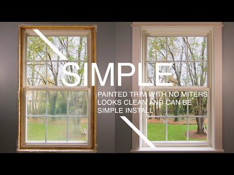 Installing Interior Window Trim | Beginner