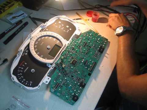 как разобрать панель киа церато 2007