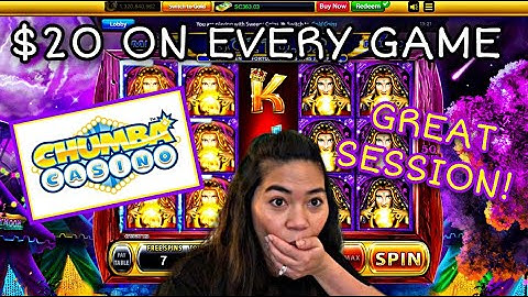 $20 ON EVERY GAME | CHUMBA CASINO | REAL MONEY ONLINE SLOTS