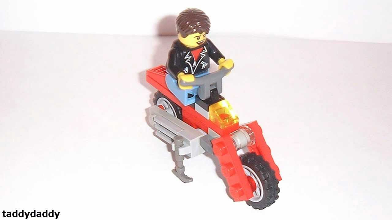 How to make a lego dirt bike youtube for What is dirt made out of