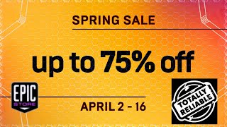 Free Games & Spring Sale | Epi…