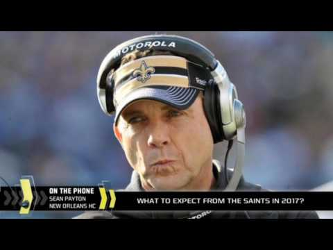 Sean Payton on the Saints in 2017 and Drew Brees