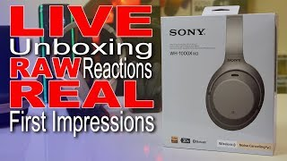 Sony 1000XM3 LIVE Unboxing And Compared To Sony 1000XM2
