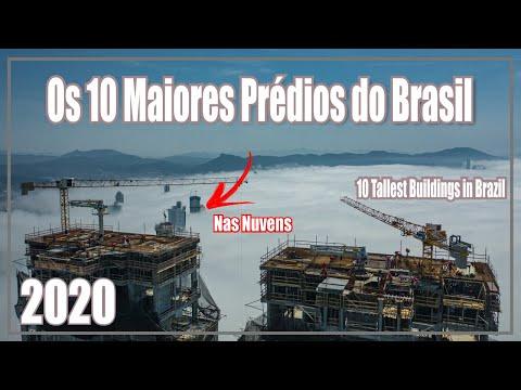 Os 10 Mais Altos Prédios do Brasil - 10 Tallest Buildings in Brazil - 2020