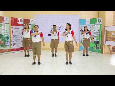 Messengers Of Peace Dance Philippines Cover Version  For 6th ASEAN Jamboree