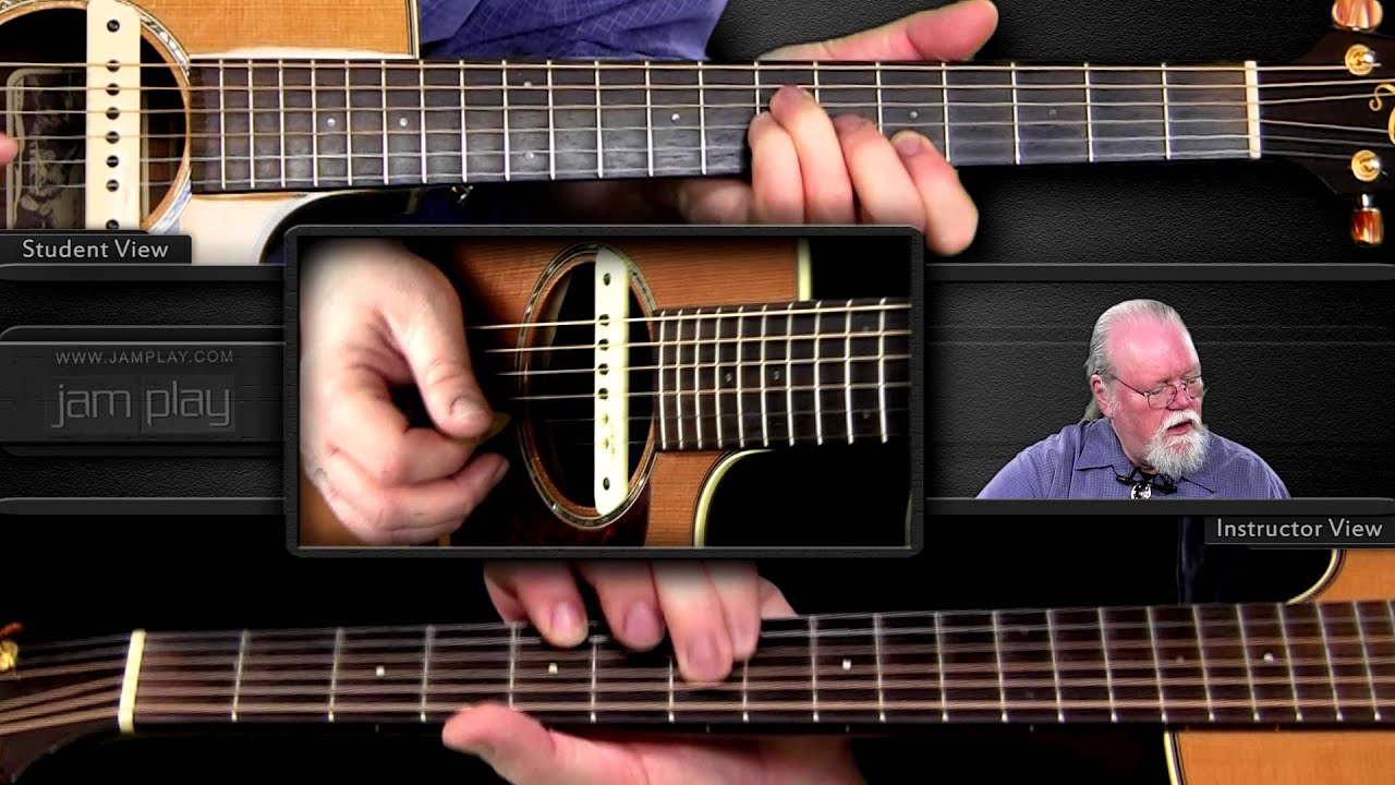 bluegrass flatpicking st anne s reel with loop control