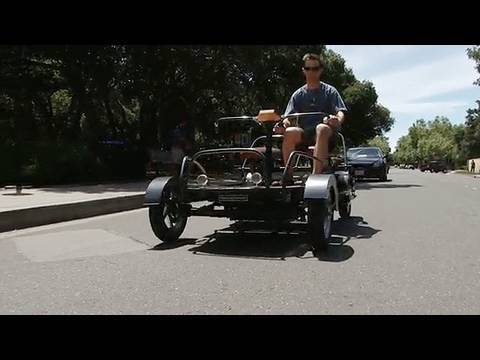 Students Create Inexpensive Electric Car