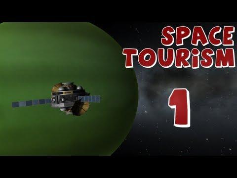 Space Tourism - Episode 1 (Kerbal Space Program)