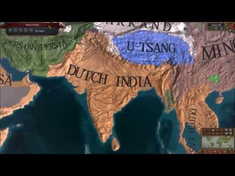 EU4 - Timelapse - Rise of my Dutch Colonial Empire