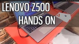 Lenovo Ideapad Z500 hands on 15 inch notebook with ultrabook profile