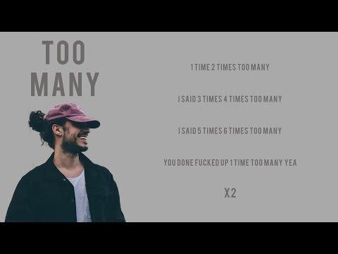 Russ - Too Many | Lyrics