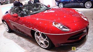 2018 Alfa Romeo Disco Volante Spyder - Exterior and Interior Walkaround - 2018 Geneva Motor Show