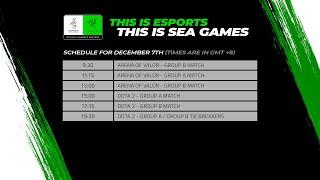 [DAY 3 Coverage] Esports @ SEA Games 2019 – Arena of Valor (AOV/ROV) & DOTA 2