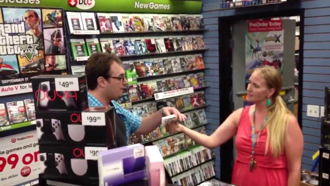 Gamestop Manager Threatens & Belittles GTA V Customer - Nerd rage ...