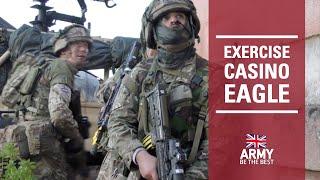 Ex Casino Eagle | Scottish and NI Yeomanry | British Army