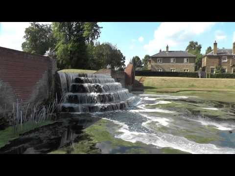 Waterfall Water Gardens Bushy Park Richmond Upon Thames