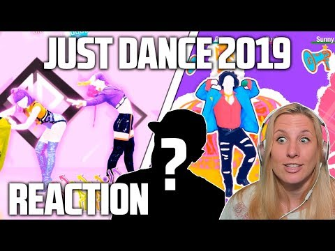 JUST DANCE 2019 TRAILERS REACTION! (French 🇫🇷 song and BLACKPINK K-POP!!)