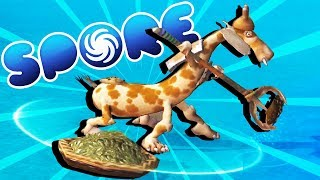 The FISHING Tribe GOES TO WAR! - Spore Gameplay