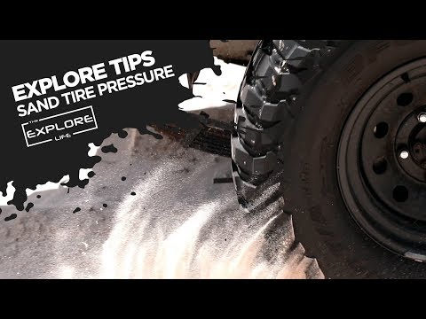 EXPLORE TIPS - INFLATING & DEFLATING YOUR TYRES FOR BEACH DRIVING!!