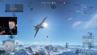 BFV - 1080p | Spitfire MK VA | A2A combat Fjell 652