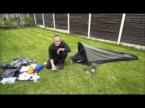 Bivvying Gear for Peak District Wild Camp