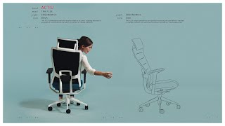 TNK FLEX office chair
