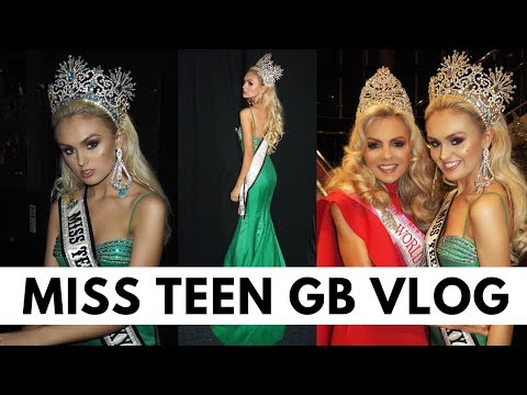 Blackpool VLOG- Pageant style- Miss Teen GB 2017 -