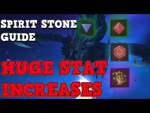 SPIRIT STONE Guide - Stat Boost - World Of Kings