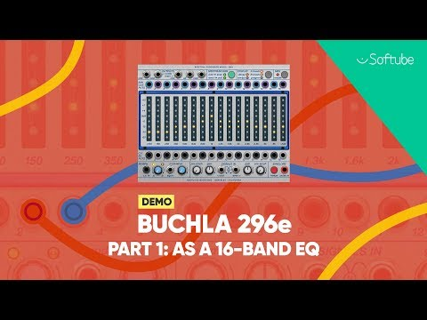 Buchla 296e Demo w. Todd Barton pt. 1/10 – As a 16-band EQ – Softube
