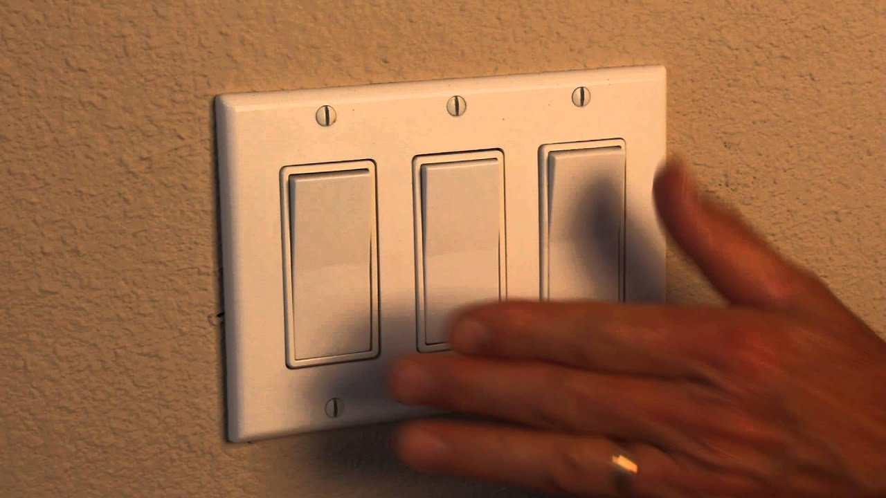 Light Switch Hand Lights Power On And Off Hd