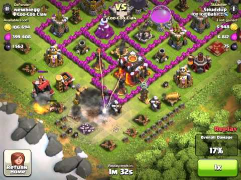 Clash of Clans Rat Trap Episode 72: Golems & Pekka