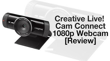 Creative Live! Cam Connect HD 1080p Webcam VF0760 [Review]