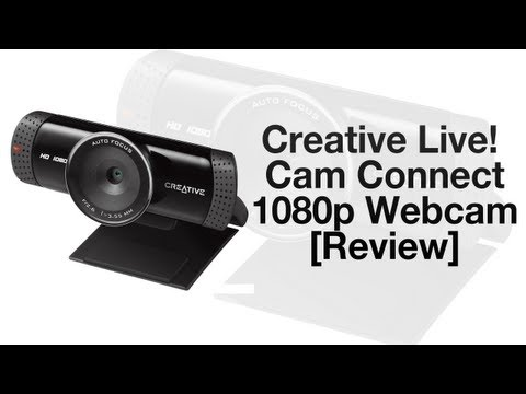 Creative Live! Cam Connect HD 1080p Webcam VF0760 [Review]