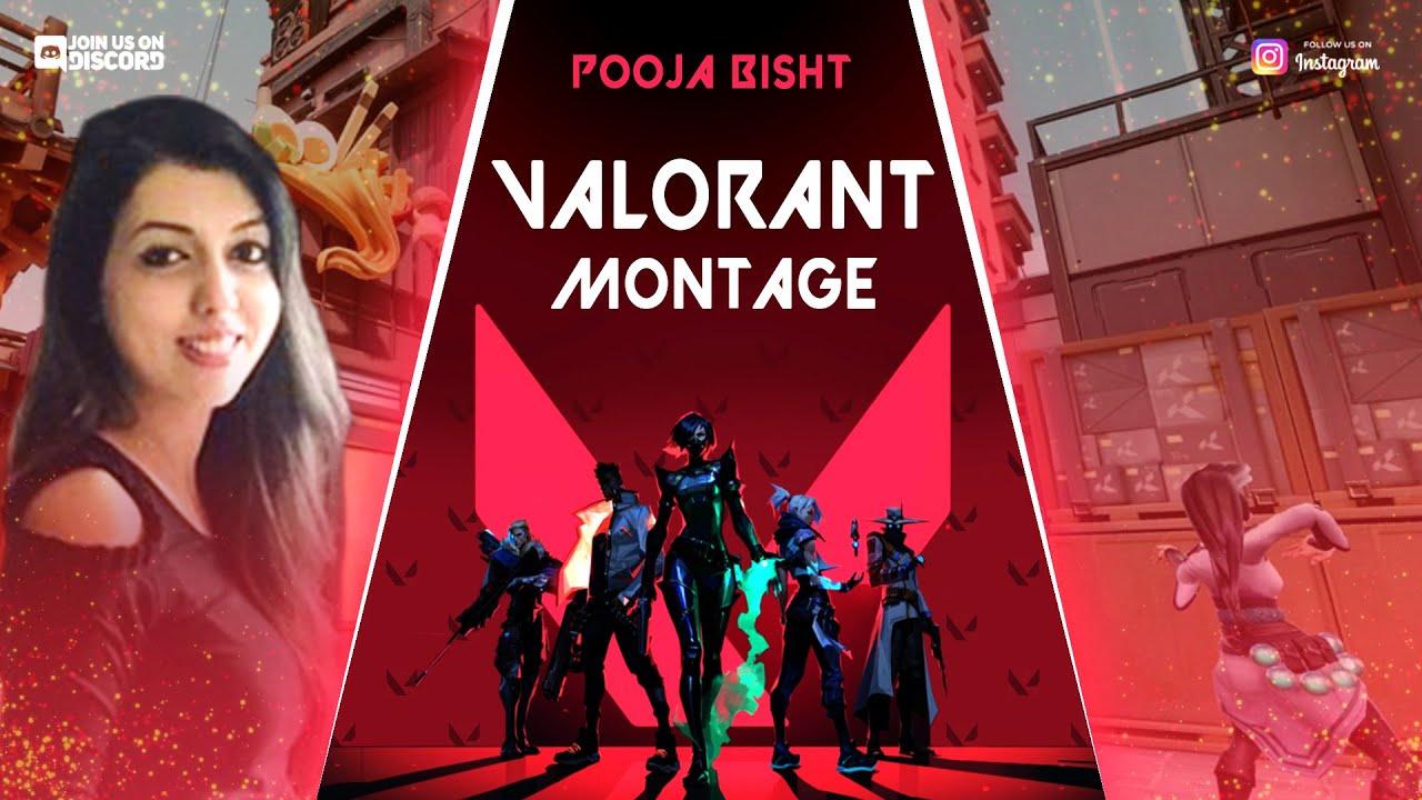 Valorant Montage | Pooja Bisht