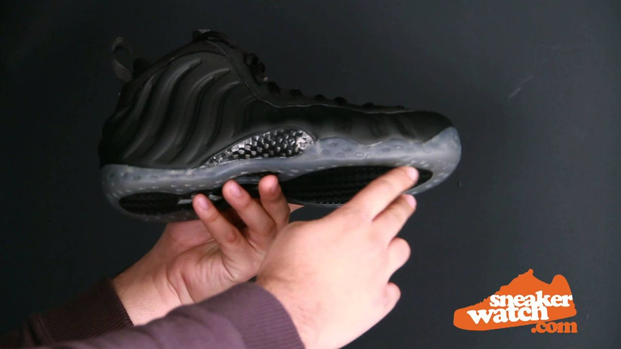 Nike Air Foamposite One Triple Black arttic eBay