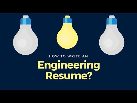 Pro Tips: How To Write An Engineering Resume