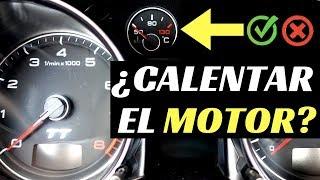 CALENTAR EL MOTOR Antes de Arrancar? | Velocidad Total