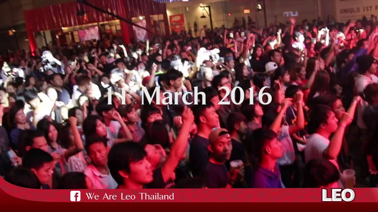Leo concert @Central plaza Udonthani 11-12 March 2016