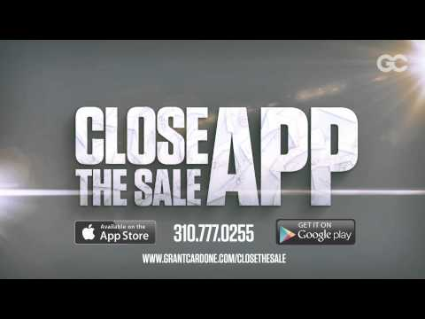 Sales - Grant Cardone's Close the Sale APP