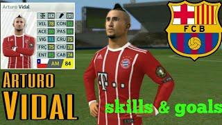 Arturo Vidal Barcelona - Skills & Goals - Dream League Soccer 2018