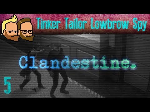 Tinker Tailor Lowbrow Spy - Let's Multiplay CLANDESTINE (co-op gameplay) - ep5
